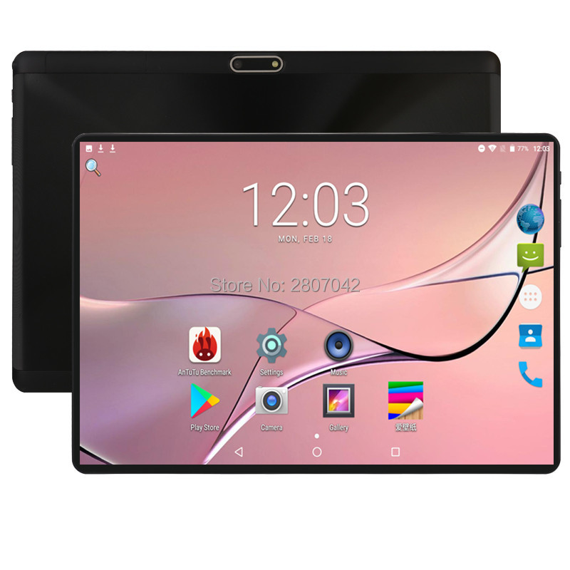 2019 Newest 10 Inch 3G 4G FDD LTE Tablet Octa Core 1280*800 IPS HD 8.0MP 4GB RAM 64GB ROM Android 8.0 GPS Tablet 10 10.1 + Gift