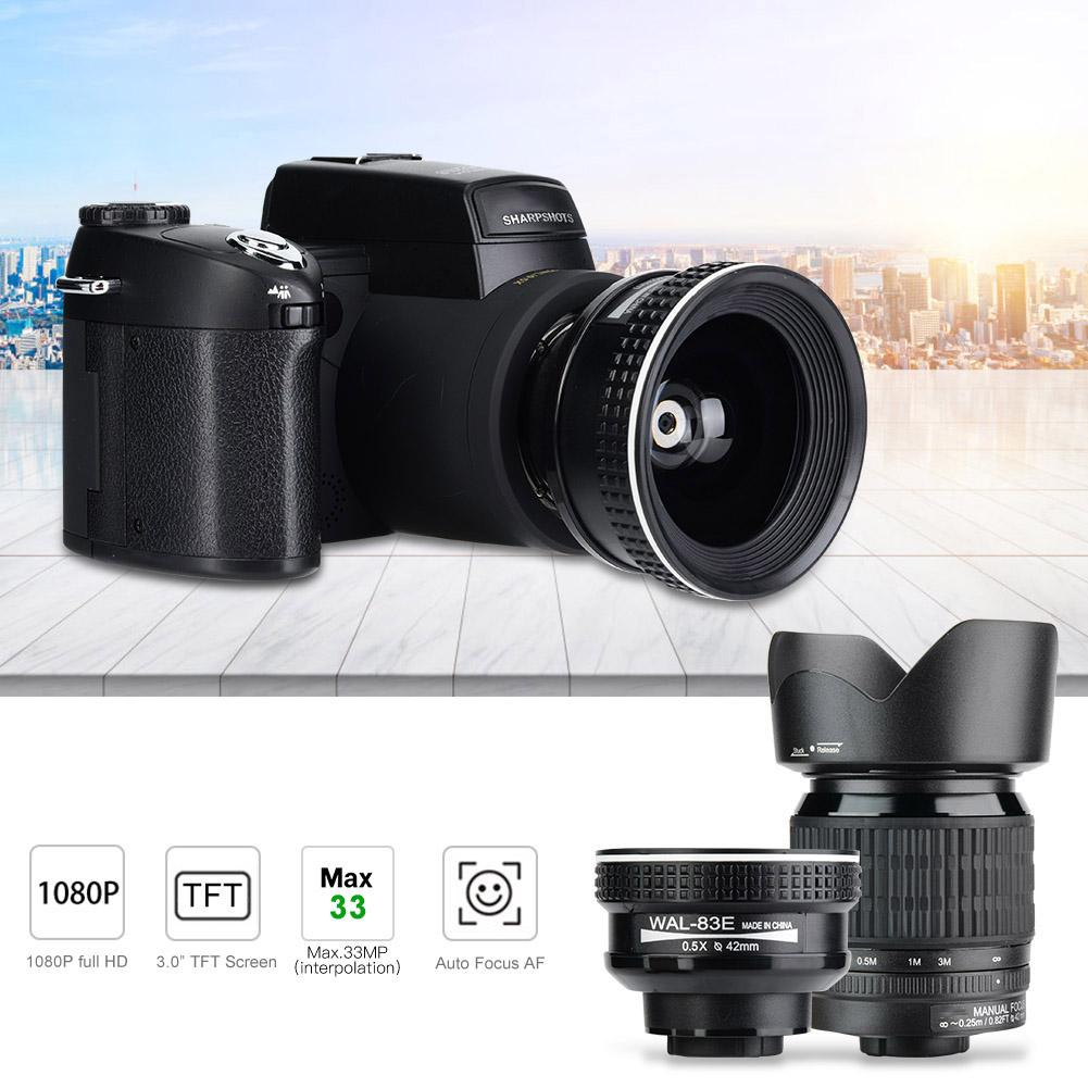 D7100 HD 33MP 3 ''LCD 24X zoom LED numérique DSLR appareil Photo caméscope