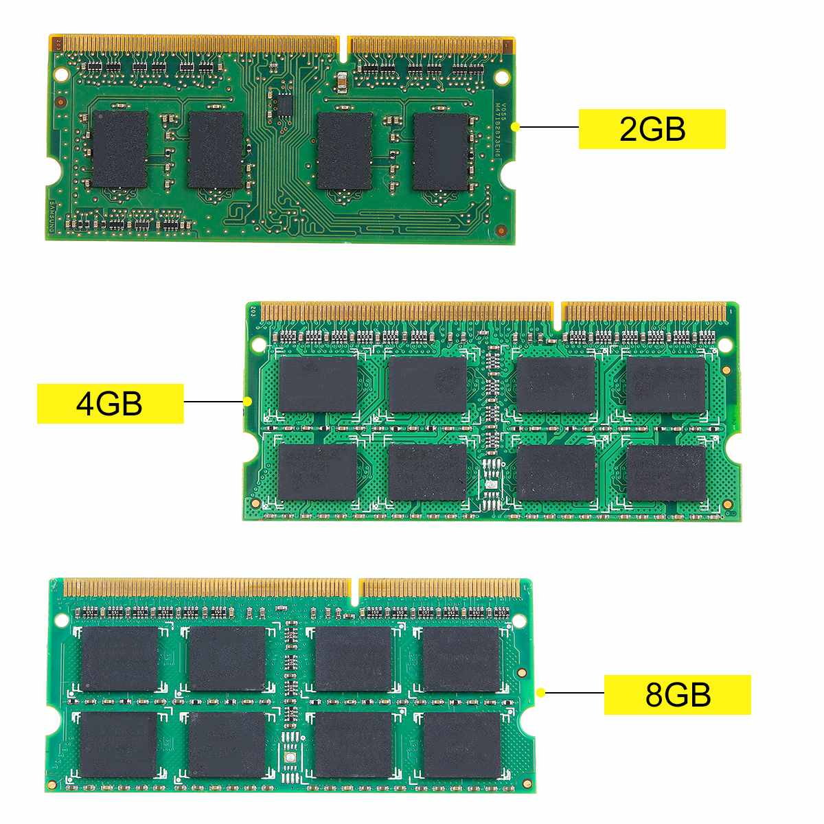 8GB 4GB 2GB Laptop Notebook Memory For Ram DDR3 1600 PC3-12800 1600MHZ 1.5V 204PIN SO-DIMM LOT