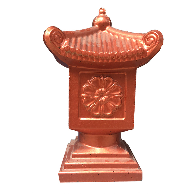 US $30 0 |ABS plastic moulds calliopsis pagoda statue mold F108 home villa  garden concrete molds for sale-in Fencing, Trellis & Gates from Home &