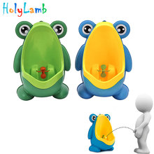 Frog Children's Potty Toilet Seat Penguin For Kids Potty Training For Babies Urinal Baby Toilet Children's Chair Pot For Newborn jinobaby bamboo aio diapers heavy wetter potty training pants for babies