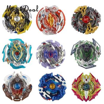 Pack of 9 PCS Rapidity Fight Master 4D Burst Spinning Top Winning Valkyrie Valtryek B-111-1 ~B-111-8 B-90 Child Character Toy   salmon