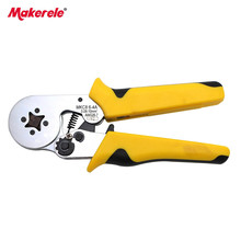 HMC8 6-4 mini-type self-adjustable pin terminal crimping tool 0.25-6mm2 wire terminal tools for copper crimping tools