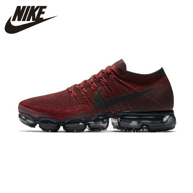 e06aacb63a2 Nike Air Vapormax Flyknit Comfortable Men's Running Shoes Cushion  Breathable Summer Sneakers #849558-601
