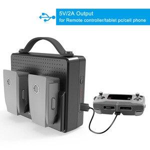 Image 5 - Smatree, baterías portátiles para DJI Mavic 2 Pro, estación de carga Compatible con carga simultánea de dos Mavic 2 Zoom