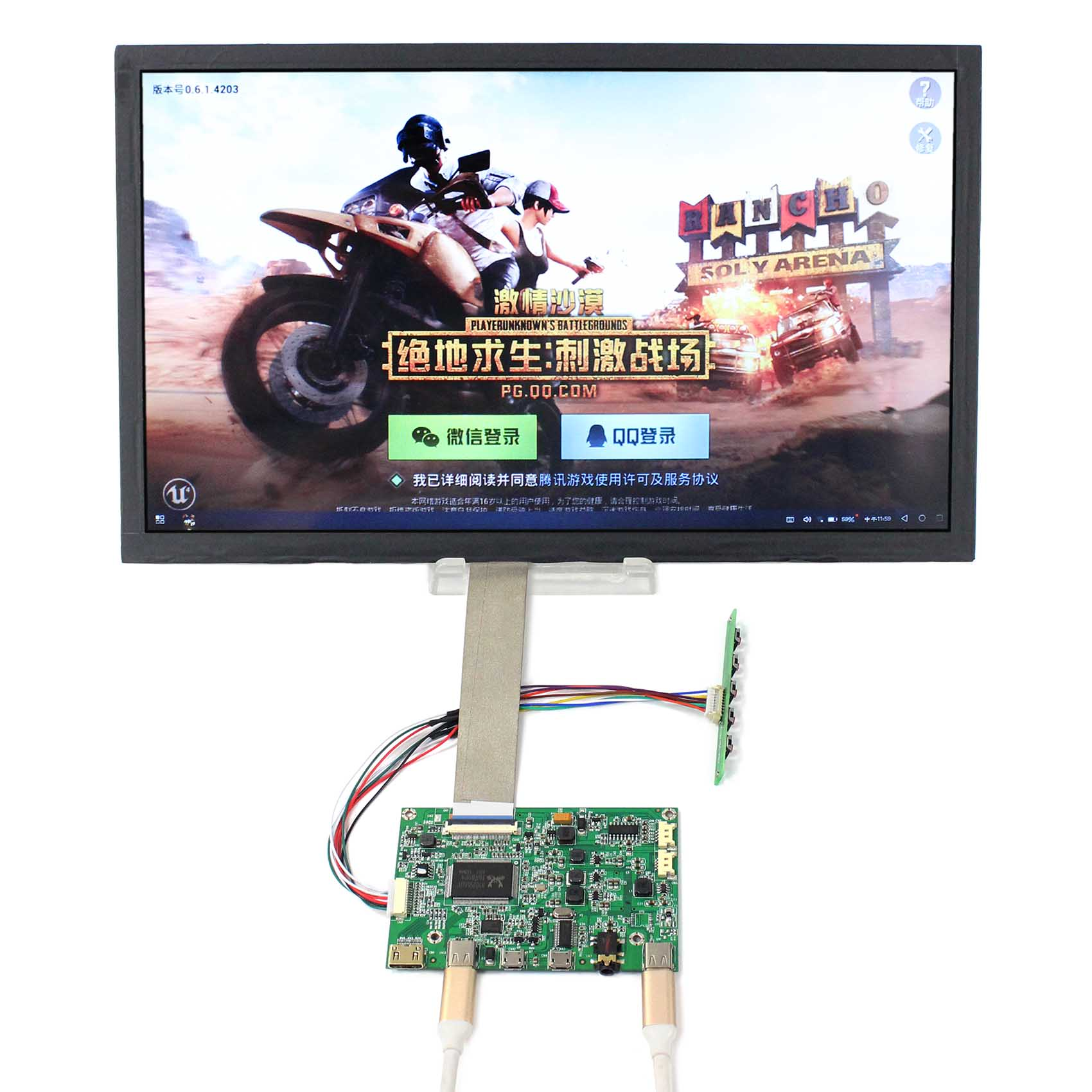 13.3inch NV133QHM-A51 2560X1440 IPS LCD Screen  work with HDMI Type-C LCD Controller Board  HDR board VS-RTD2556HC-V1 13.3inch NV133QHM-A51 2560X1440 IPS LCD Screen  work with HDMI Type-C LCD Controller Board  HDR board VS-RTD2556HC-V1