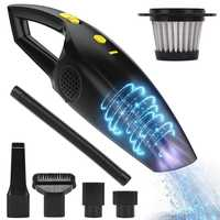 Rechargeable Cordless Handheld Vacuum, Powerful Car Hand Vacuum Cleaner, 2200Mah Lithium Battery Portable Vacuum For Cars, Hom