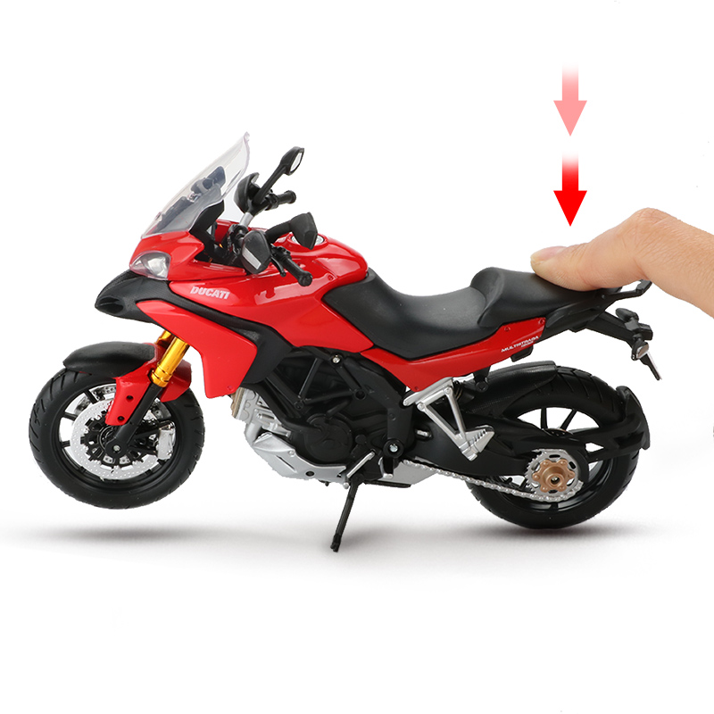 Maisto <font><b>1:12</b></font> Scale Alloy Motorcycle <font><b>Model</b></font> Toy Motorbike Mountain Bike Racing Vehicle 1200S Creative <font><b>Cars</b></font> Toys For Children Gift image
