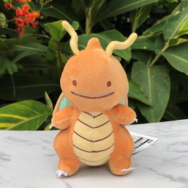Collection Allstar idem Lapras libellule Pikachu Omanyte écureuil Charmander Bulbasaur peluche jouets en peluche poupée de bande dessinée