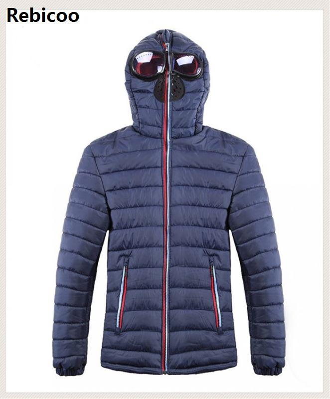 3 Colors Plus Size S-4XL Mens Padded Jackets Fashion Autumn Winter Coat Men 2018 Casual Warm   Parka   For Men Clothes