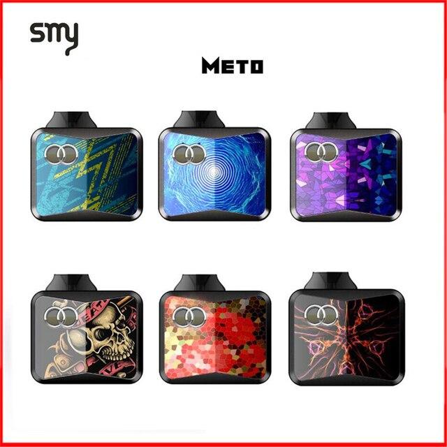 Оригинальный SMY OCO METO Starter Vape Kit 650 мАч встроенный аккумулятор с 1,5 мл емкости рапылителя бак электронных сигарет комплекты электронных сигарет