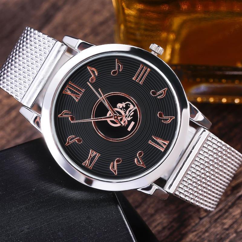 big watch - white watch