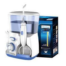 Waterpulse V300G Oral Irrigator 5pcs Tips Dental Water Flosser Water Floss 800ml Oral Hygiene Dental Flosser Water Flossing