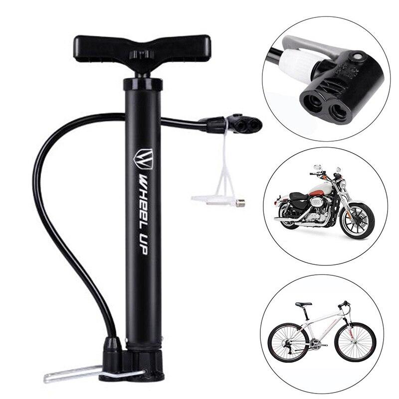 Колесный насос для велосипеда 120 PSI напольный велосипедный насос для баскетбола шины для мотоцикла ручной надувной насос