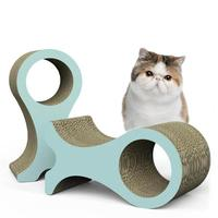 Cat Scratcher Lounge Cats Kitten Scratcher Scratching Board Interactive Corrugated paper Toy For Pet Cat Training Toy