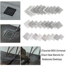 Universal-Direct Heat-Stencils Repair-Tools Soldering-Supplies BGA for Notebooks Desktops