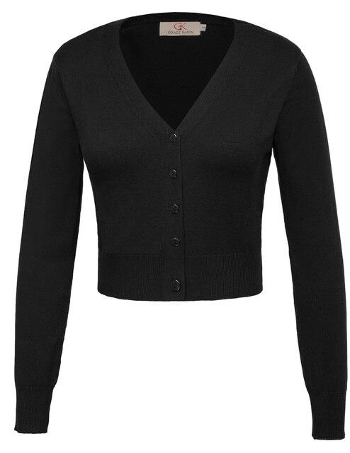 Mùa thu mỏng rắn áo len Phụ Nữ Chín Điểm Tay Áo V-Cổ nút trang trí nội thất Cắt Cotton ladies tops Dệt Kim Đan Áo Khoác Cardigan