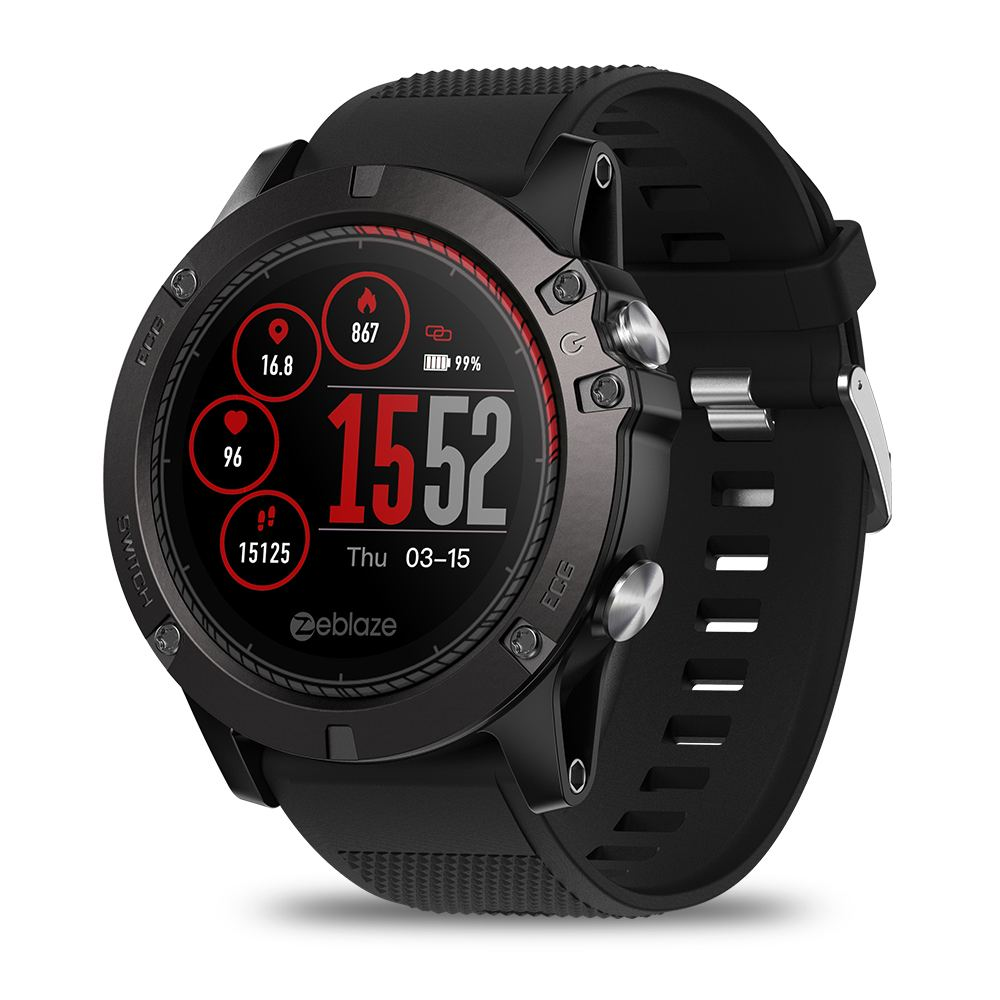[In stock ]Zeblaze VIBE 3 ECG Watch GREENCELL Heart Rate Instant ECG Activity Run Route Tracking Sleep Monitor Smart Watch Band[In stock ]Zeblaze VIBE 3 ECG Watch GREENCELL Heart Rate Instant ECG Activity Run Route Tracking Sleep Monitor Smart Watch Band
