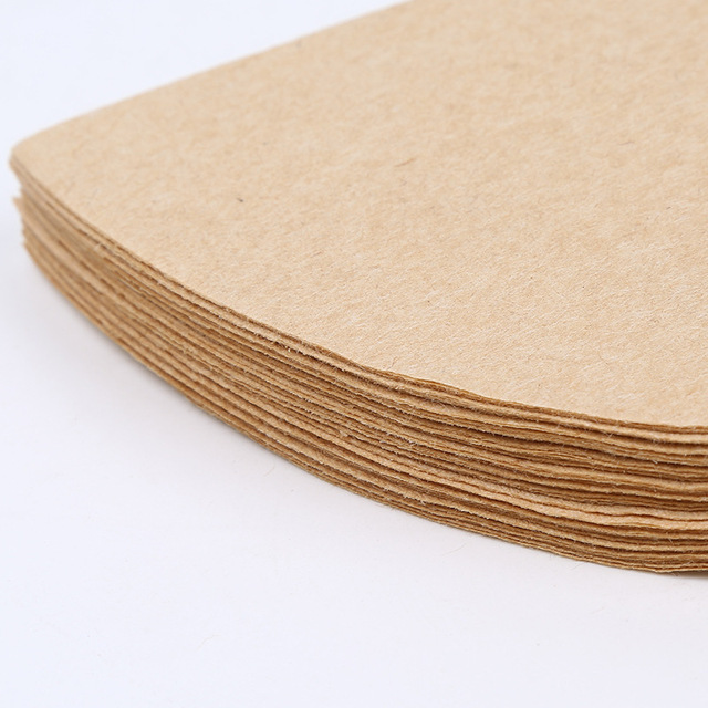 Hot V60 Filter Cup Special 102 Coffee Filter Paper Coffee Filter Papers Unbleached Original Wooden Drip Paper Cone Shape Coff 5