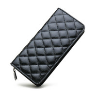 Fashion Genuine Leather Women Wallet Long Women Purses With Clutch And Zipper High Quality Ladis Wallet With Coin Pokcet
