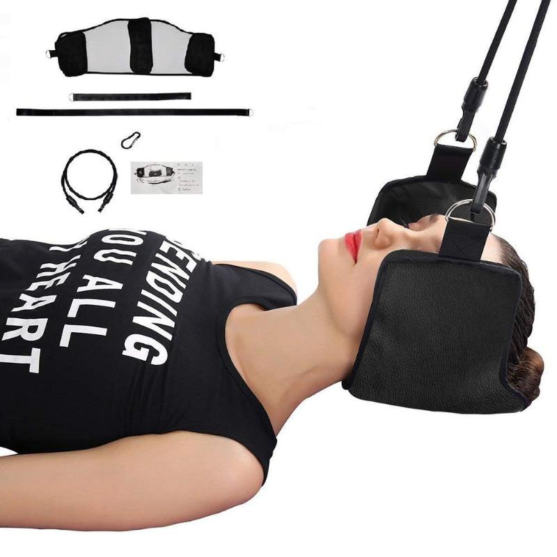 Integrated Fitness Equipments Just 2019 Portable Neck Muscle Exercise Pain Relief Relaxing Hammock Neck Massager Napping Sleeping Pillow Cushion For Home Office Fitness Equipments