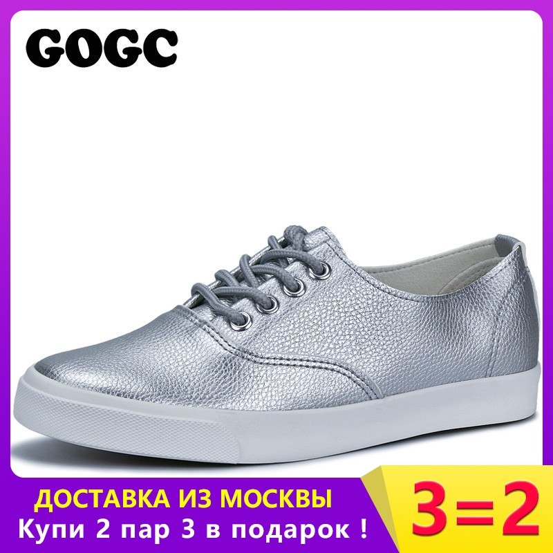 GOGC Flat Shoes Women Breathable Women Sneakers Footwear High Quality - Women's Shoes
