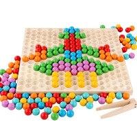 Kids Wooden Toys For Children Montessori Puzzle Brinquedos Juguetes Brinquedo Oyuncak