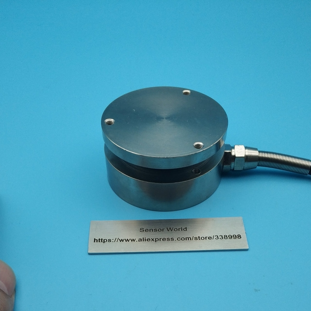 Düz körük sensörü uçak basınç sensörü çapı 58mm 20kg 30kg 50kg 100kg 200kg 300kg 500kg 1T 2T 3T 5T 10T