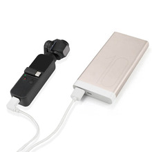 Для DJI Osmo Карманный Camer шнур для зарядки батареи type-c порт белый 31 см ручной карданный камеры аксессуары