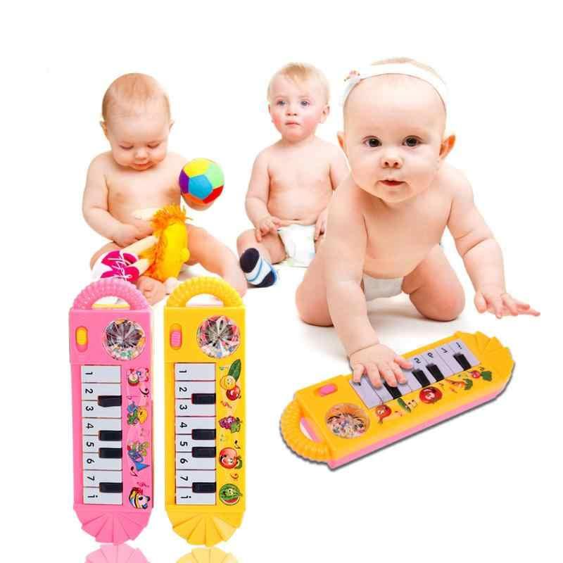 2019 bebek piyano oyuncak bebek yürüyor gelişim oyuncak plastik çocuk müzik piyano erken eğitici oyuncak enstrüman hediye