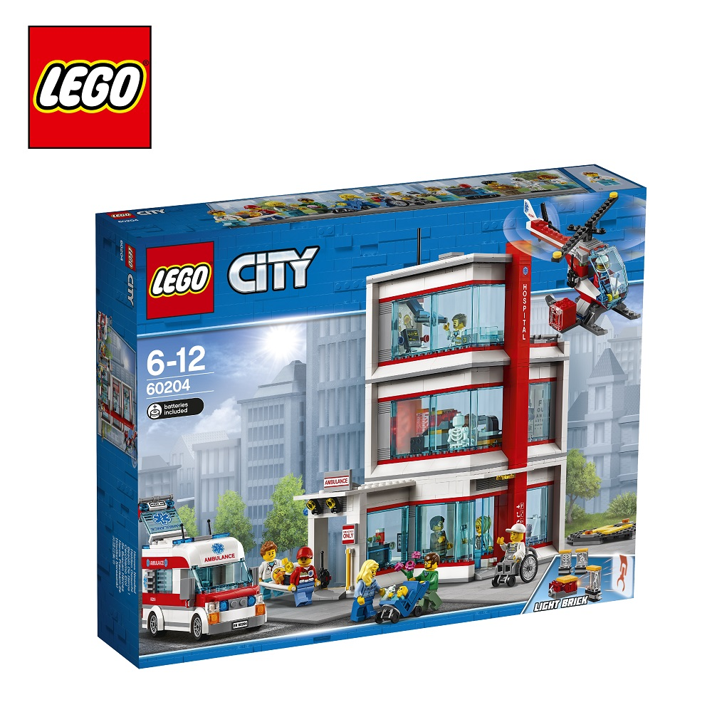 Blocks LEGO 60204 City play designer building block set  toys for boys girls game Designers Construction lego city городская больница 60204