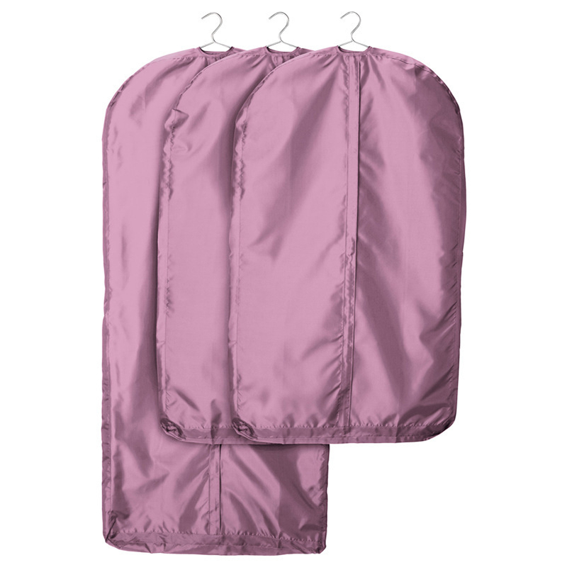 Purple Oxford Fabric Dust Waterproof Anti-mildew Cover Storage Bag for Clothes Garment Jacket Shirt Suit Protection TZ001