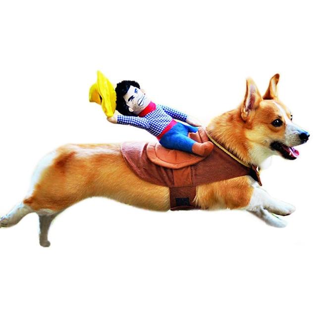 Hund Anzug Pet Kleidung Hund Kleidung Pet Cowboy Reiten Kleidung ...