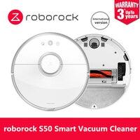 Оригинальный робот пылесос Roborock S50 для дома, автоматический пылесос для уборки пыли, стерилизованный приложение, умная интеллектуальная мо