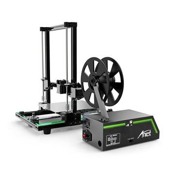 3D Printer DIY Kit Anet E10 Partially Assembled Multi-language Software Aluminum Alloy Frame 220*270*300mm