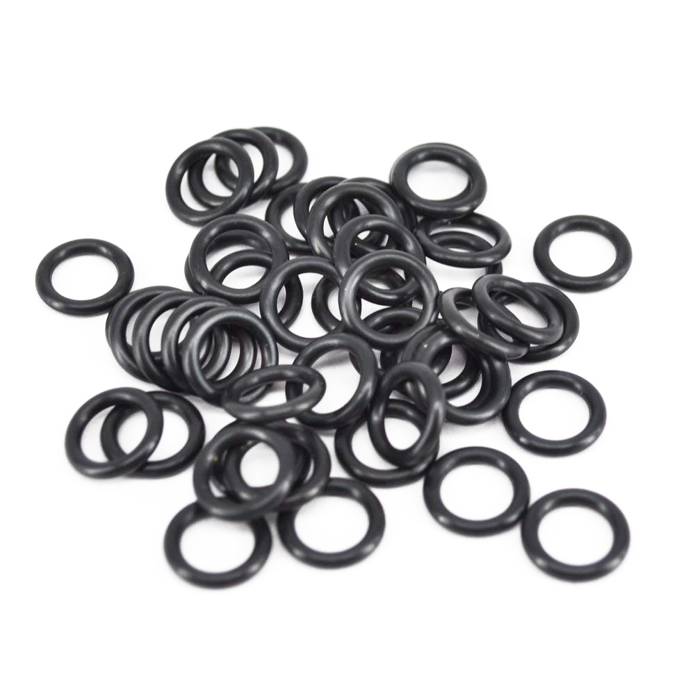 Carp Fishing Tackle Rubber O Rings Black For Fishing Bite Alarms, Rod Pods, Bars Pack Of 100pcs