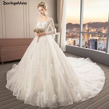 darlingoddess Wedding Dress 2018 Ball Gown Wedding Dresses