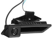 Широкий формат автомобиля резервную обратный Камера HD ручка CCD обратный Камера для BMW E82 E88 E84 E90 E91 E92 E93 E60 E61 E70 E71 170 градусов