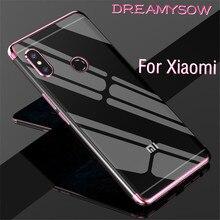 Силиконовый ТПУ чехол для телефона Redmi Note 7 6 5 Pro 5A Redmi 5 6 6A Lxury мягкий чехол для Xiaomi Mi8 Lite 8 SE Pocophone F1