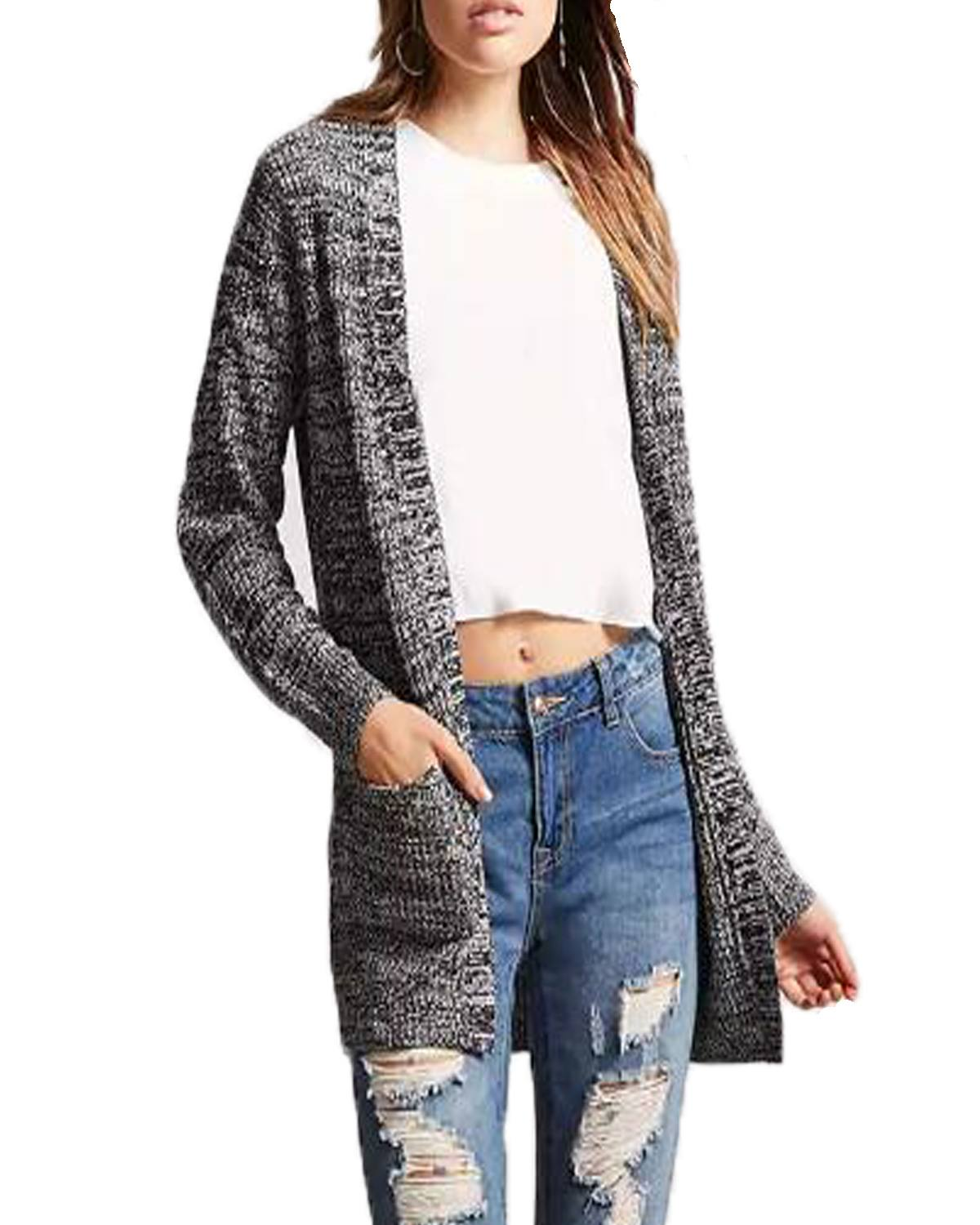 Women Blends Wool Cardigan Coats 2019 Autumn Winter Vintage Casual Loose Solid Sexy V-Neck Long Sleeve Wool Overcoat Plus Size