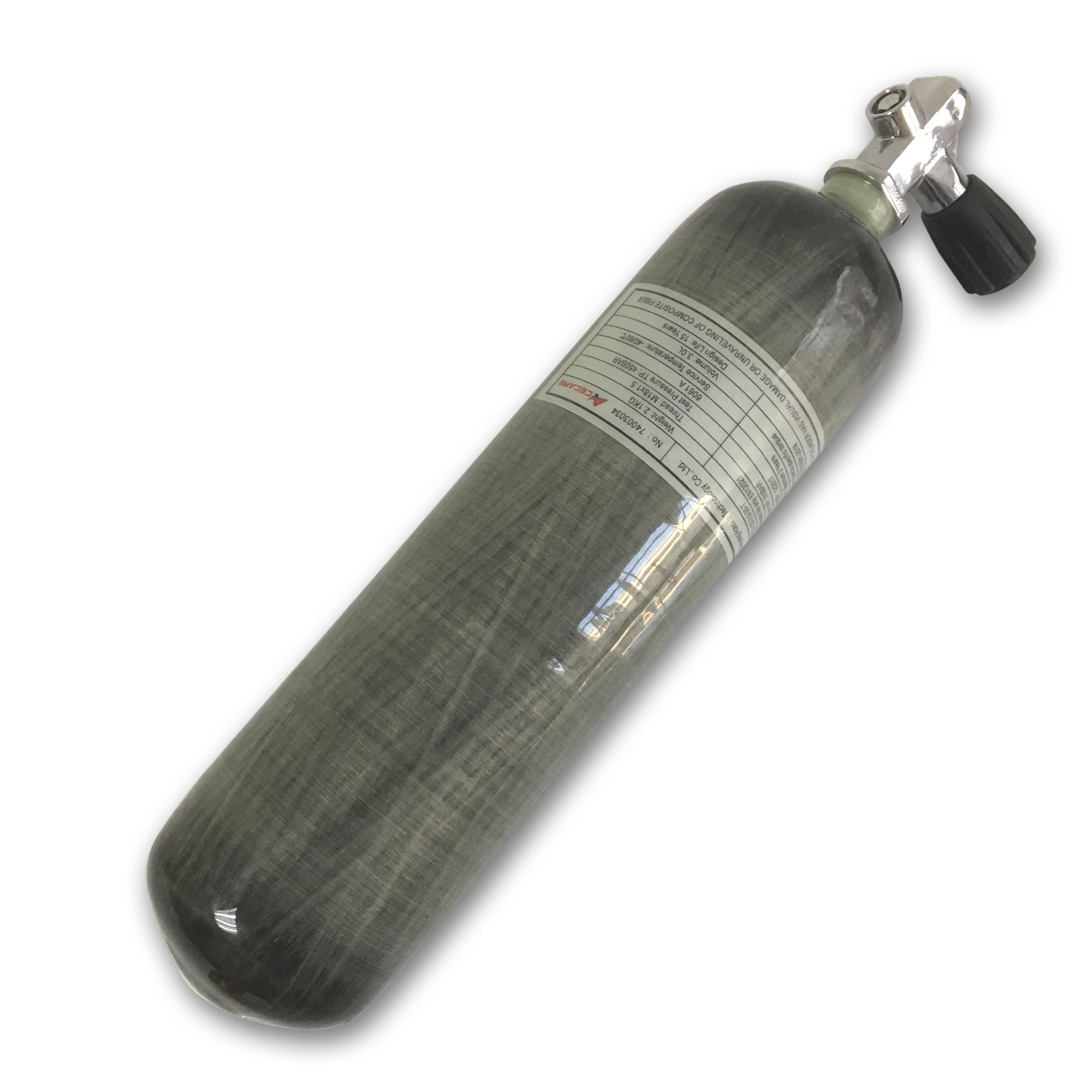 AC10351 Bottles 3L 4500psi Gas Cylinder Scuba Mini Diving Rifle Compressed  Pcp Air Rifle Paintball Tank Airsoft Air Guns 2019