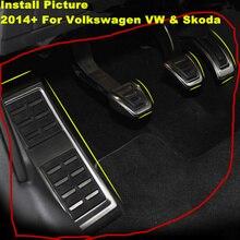 2014+ Car Foot Pedal Pad Kit For Audi A3 8V Seat Leon Volkswagen Golf 7 VII MK7 Passat VIII Skoda Octavia A7 Karoq Rapid