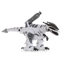 K9 Intelligent Dinosaur Fighting RC Robot Programmable Touch-sense Music Dance Toy for Children Kids Toy(China)