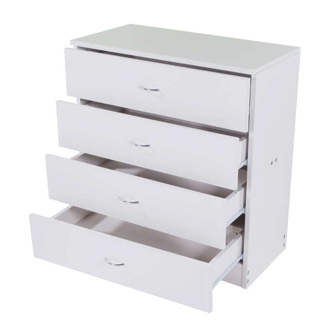 Us 83 18 25 Off Mdf Wood Simple 4 Drawer Dressers White Storage Organizer Bedroom Living Room Home Furniture In Dressers From Furniture On