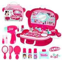 Children Pretend Play Toy Children Cosmetics Princess Makeup Box S Hairdressing Simulation For Girls Toys