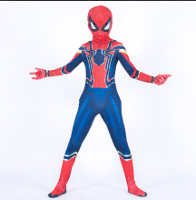 Halloween Boy Spider Man Fancy Dress Children's Day Book Week Gift Costume Jumpsuit book boy