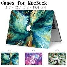 ノートブック MacBook ラップトップケーススリーブ 2019 Macbook Air Pro の網膜 11 12 13.3 15.4 インチスクリーンプロテクターキーボード入り江