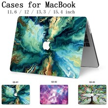 Para MacBook Notebook Laptop Caso Manga 2019 Para MacBook Air Pro Retina 11 12 13.3 15.4 Polegada Com Protetor de Tela teclado Enseada