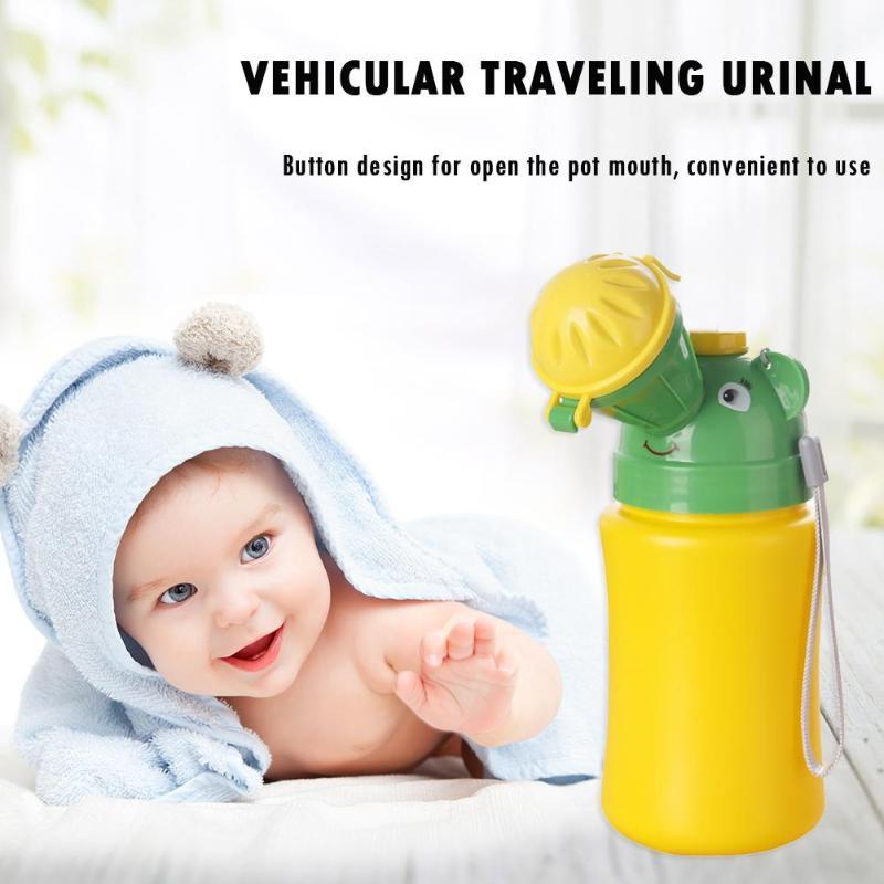 Portable Baby Urinal Potties Male Leak-proof Child Urinal Mini Travel Car Toilet Camping Boy Girl Kid Potty Training urination