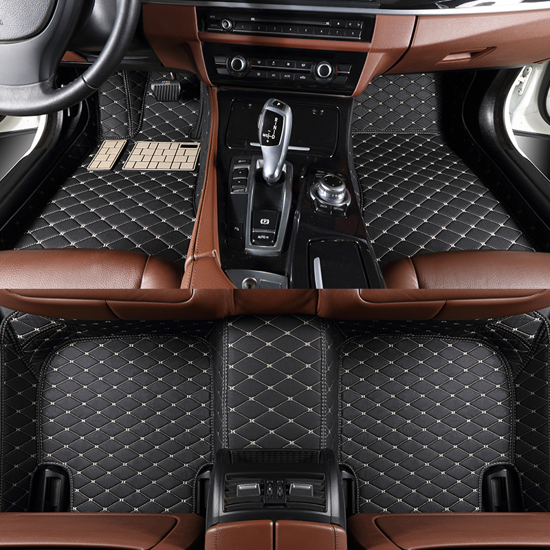 Tapis de voiture personnalisé pour Ford Everest acy Ranger pick-up 2016 2017 2018 2019 accessoires de voiture antidérapant 3D 5D tapis de sol de voiture